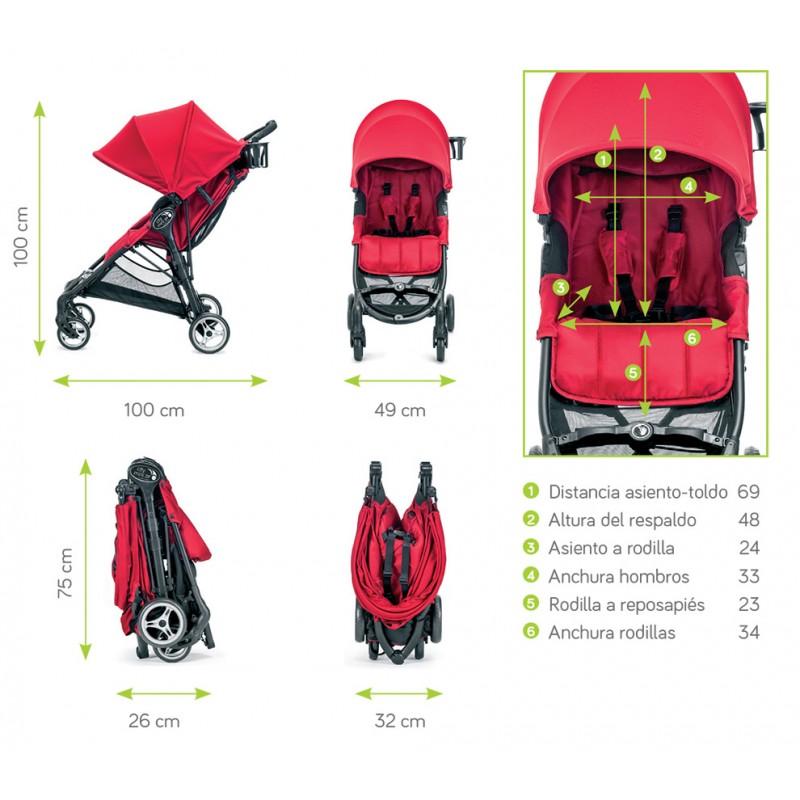 City Mini Zip De Baby Jogger Gemelicos S C