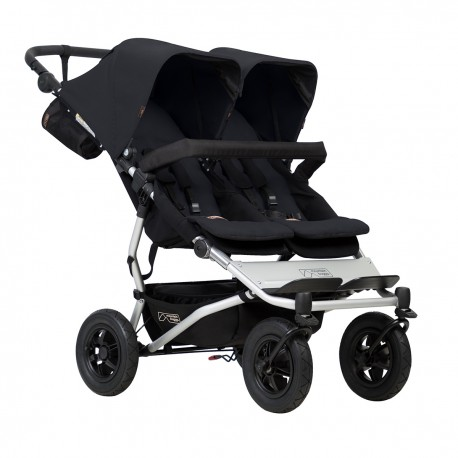 CARRO GEMELAR MOUNTAIN BUGGY DUET 3.0 NEGRO