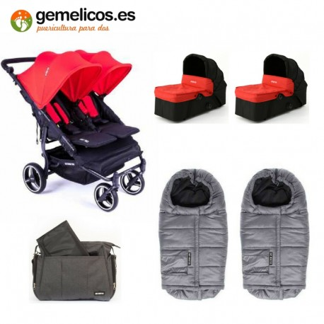 PACK INVIERNO EASYTWIN 3.0 S BABY MONSTERS