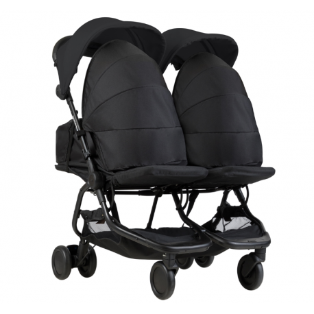 PACK NANO DUO NEGRA + 2 COCOONS DE MOUNTAIN BUGGY