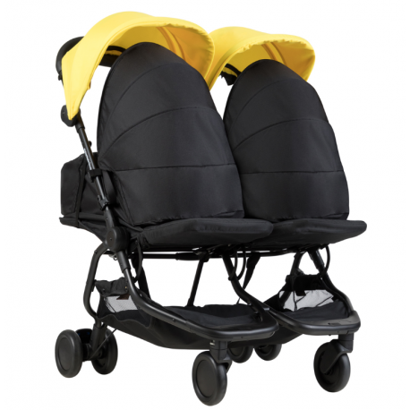 PACK NANO DUO AMARILLA + 2 COCOONS DE MOUNTAIN BUGGY