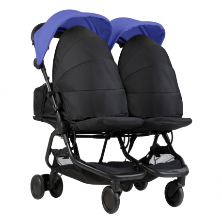 PACK NANO DUO AZUL + 2 COCOONS DE MOUNTAIN BUGGY