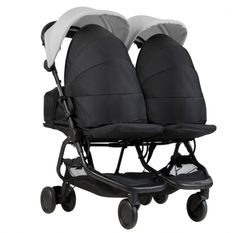 PACK NANO DUO GRIS + 2 COCOONS DE MOUNTAIN BUGGY
