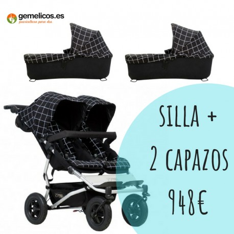 PACK MOUNTAIN BUGGY DUET 3.0 BASICO ultima unidad