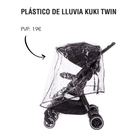 BURBUJA DE LLUVIA KUKI TWIN DE BABY MONSTERS