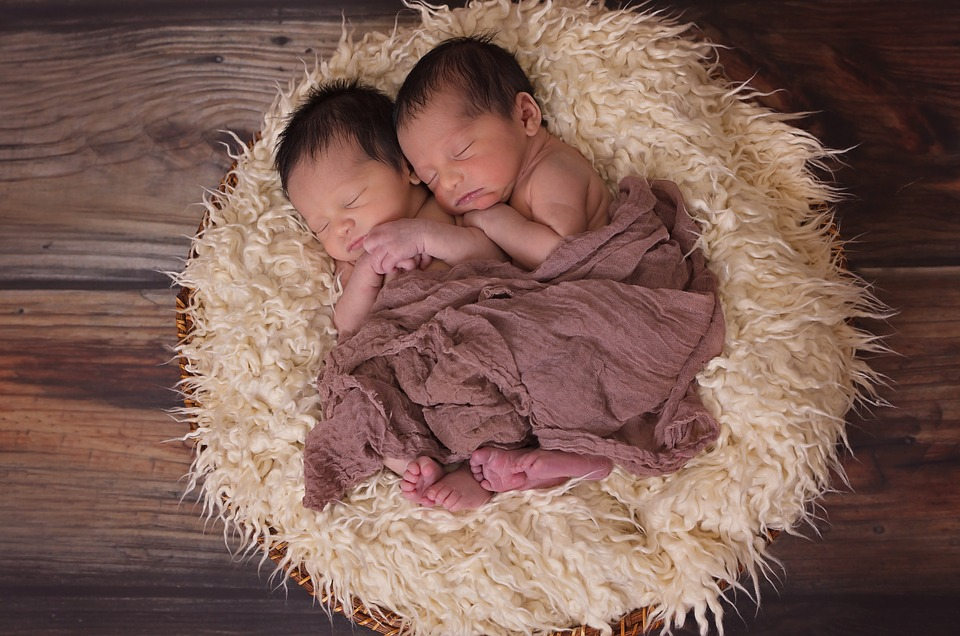 Carritos de bebé gemelares
